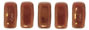BRC-R14415 Opaque red patina - 50 beads