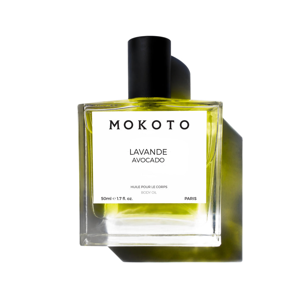 Luxury Lavender Avocado Body Oil,Body Oil - MOKOTO