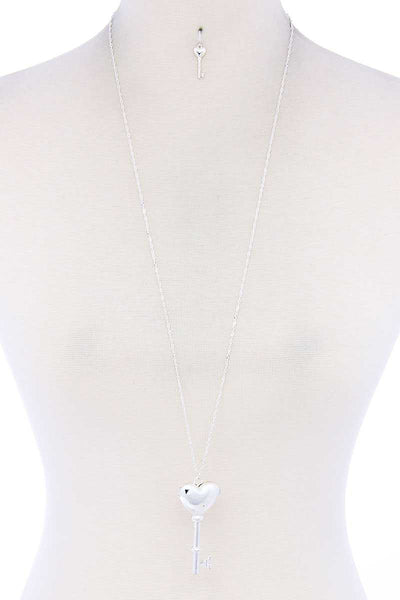 Break Apart Heart Pendant Necklace - Fashion Quality Boutik