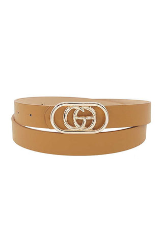 Stylish Modern Border Letter Belt