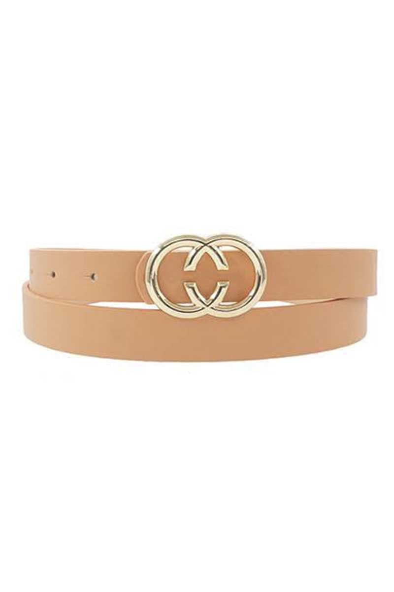 Center Cut Double Loop Standard Belt - Fashion Quality Boutik