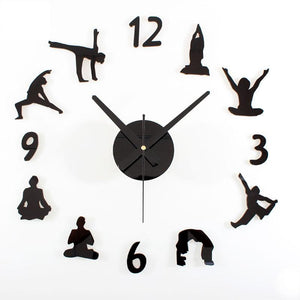 The Best Yoga Wall Clock
