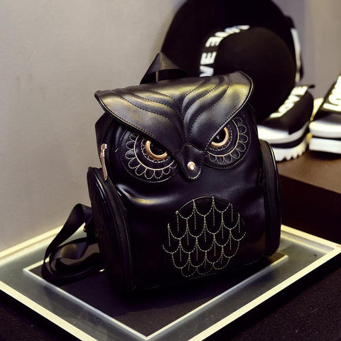The New Christmas Edition Owl Backpack