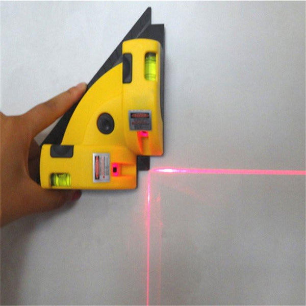 Right Angle Laser Level Line Projection