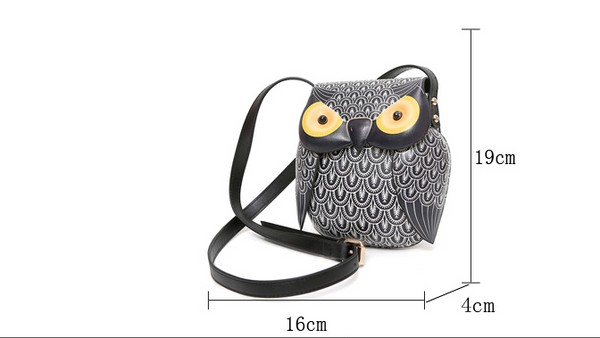 2017 Crossbody Owl Bag (SO UNIQUE)