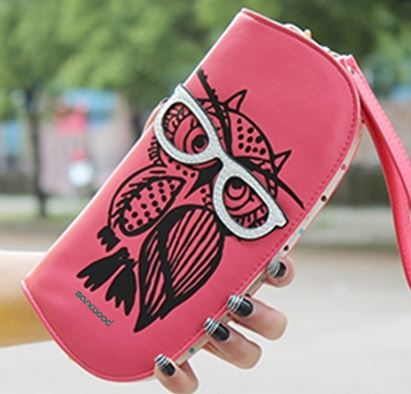 Owl Glasses Clutch