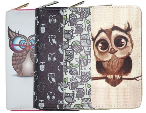 Owl Wallet w/ Phone Pocket