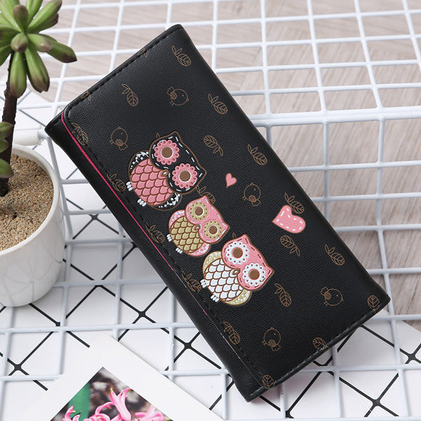 Cute Owl Wallet