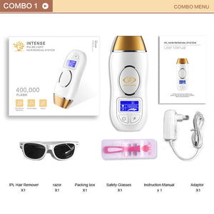 3 in 1 IPL Laser Hair Removal