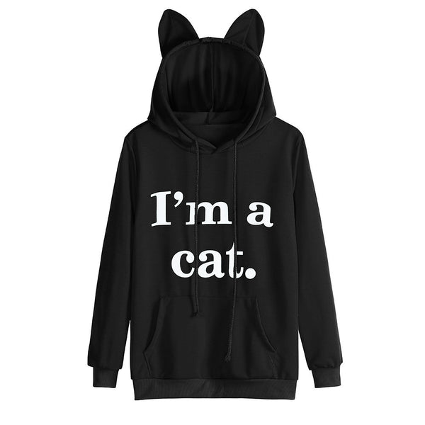 Cat Hoodie With Ears