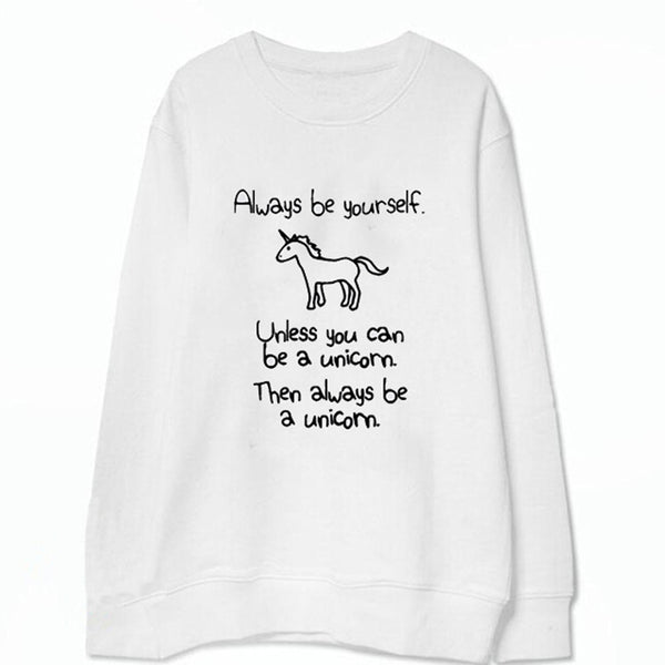 Unicorn Letter Sweatshirt