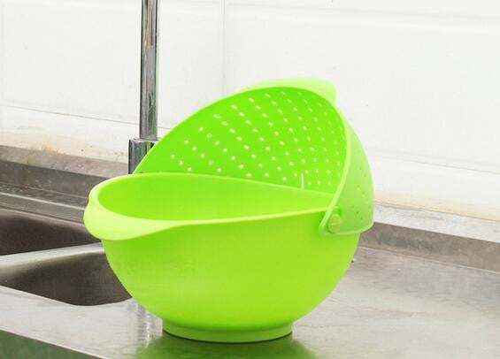 RINSE BOWL & STRAINER