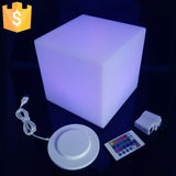 4 pcs.  LED Lighting Children Cube Chair 8""