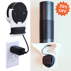 Bundle & Save: 2 Power Perches | 2 Echo Dot Holders