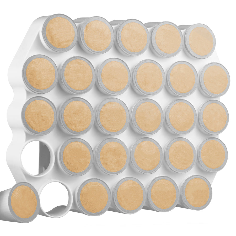Café Wall Caddy – K-Cup Coffee Organizer (Peel & Stick)