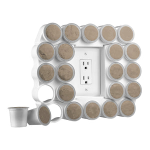 Cafe Wall Caddy - K-Cup Coffee Pod Organizer