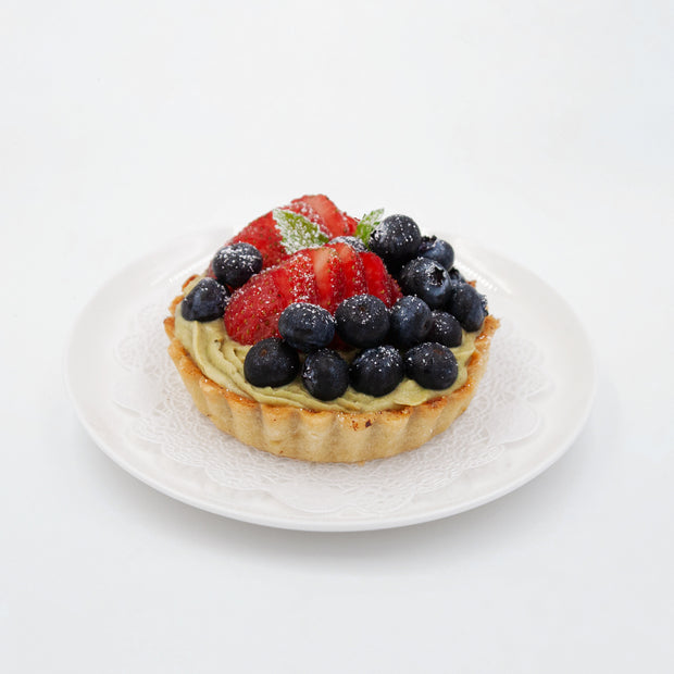 Green Tea Fruit Tart