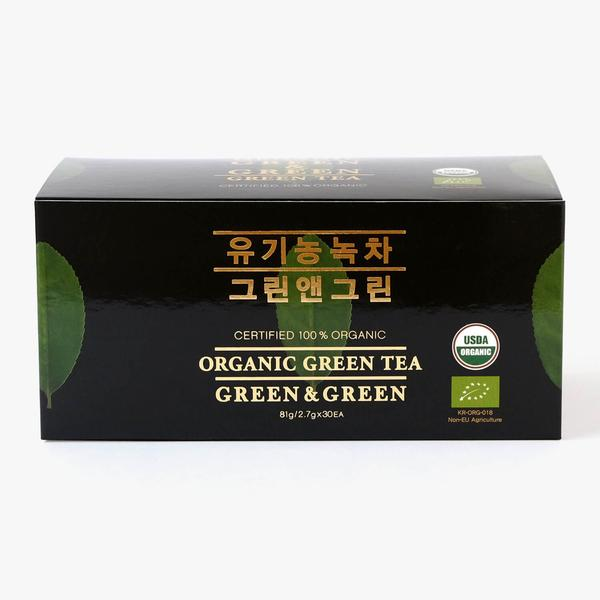 Organic Green Tea Rounds