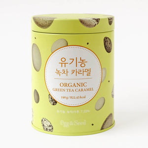 Organic Green Tea Caramel
