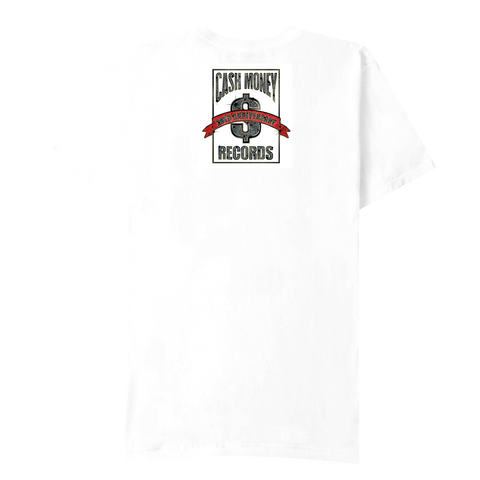 Cash Money Logo White T-Shirt