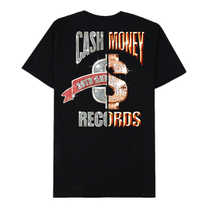 Cash Money Split Logo Black T-Shirt
