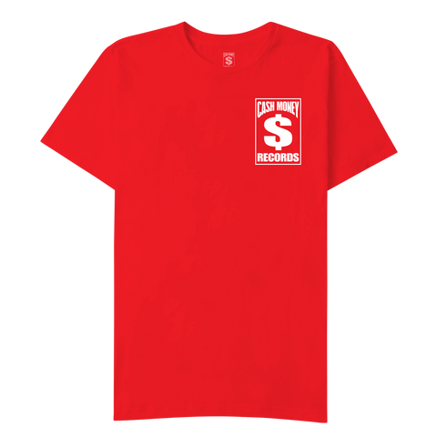 Cash Money Logo Red T-Shirt