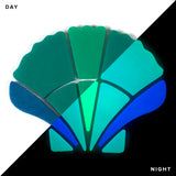 Glow in the Dark - Scallop Shell Mosaic