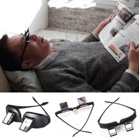 Horizontal Viewing Glasses