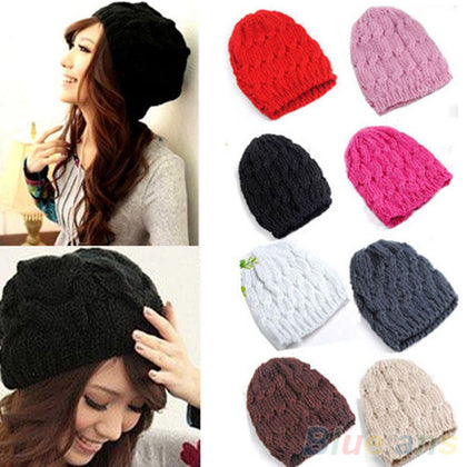 Wool Braided Beanie