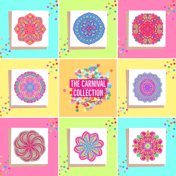 New  - Carnival Mandala Collection