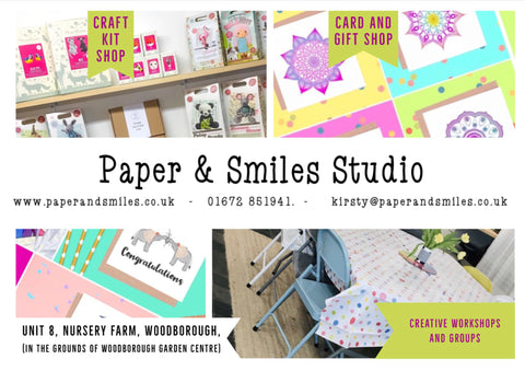 Paper and Smiles Studio Flyer