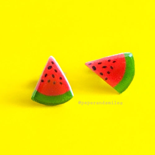 Juicy Watermelon Earrings