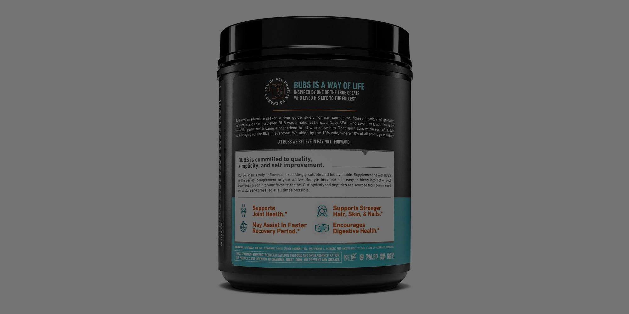 How is BUBS Collagen Protein Powder Made?