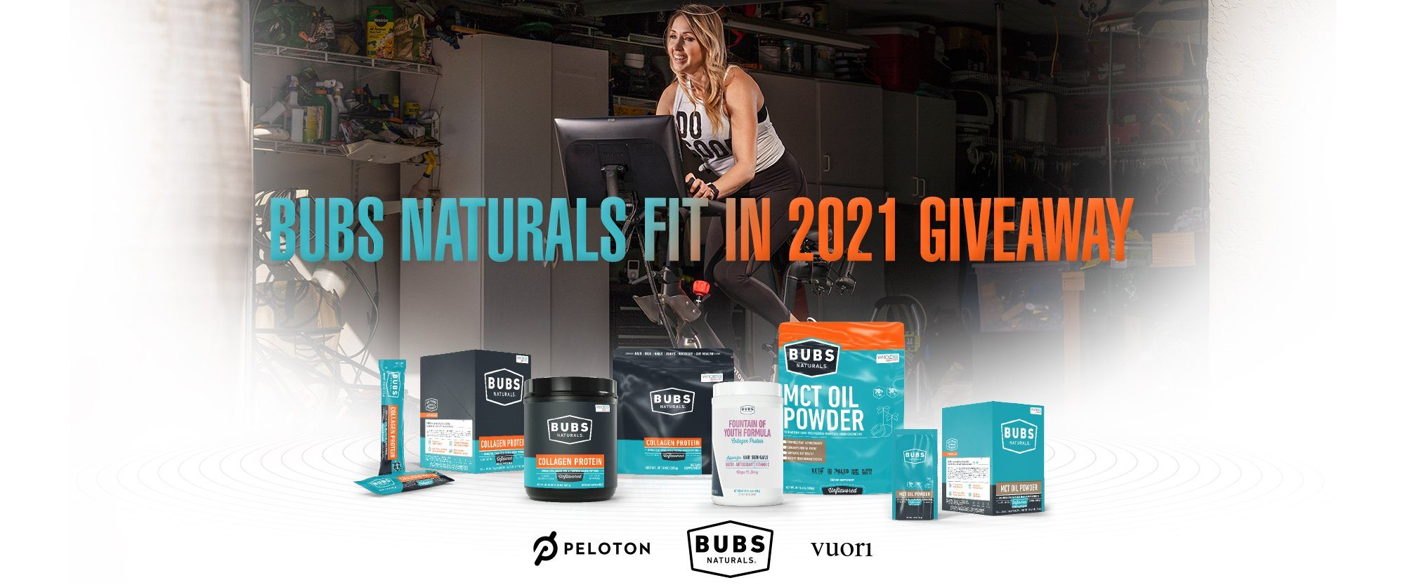 BUBS Naturals Fit in 2021 Giveaway Challenge
