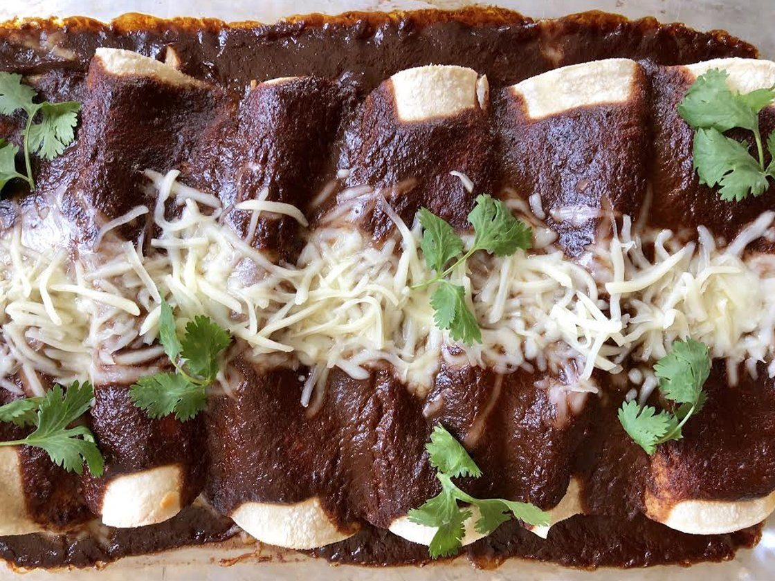 Collagen Protein Mole Sauce