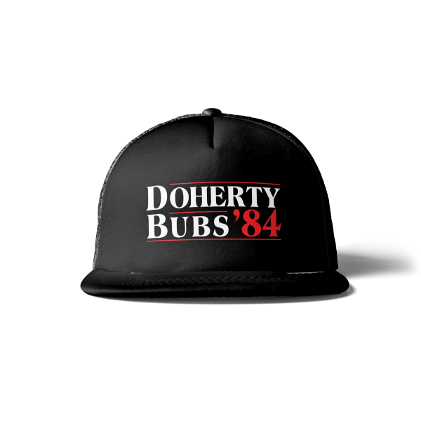 Black Eighty Four Bubs Doherty Snapback Trucker Hat