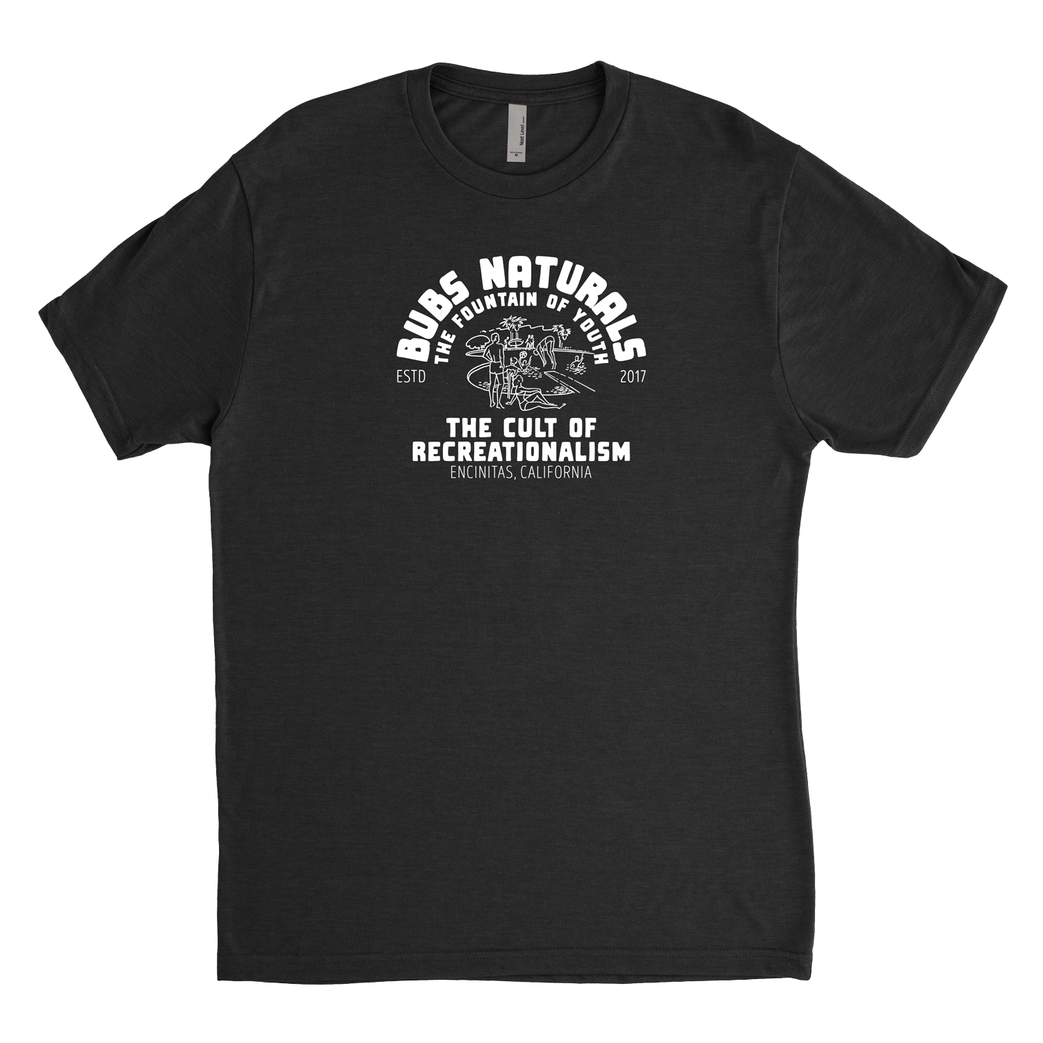 black BUBS Naturals Cult of Recreationalism t-shirt
