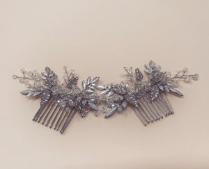 Silver Leaf Comb