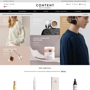 Content Beauty & Wellbeing