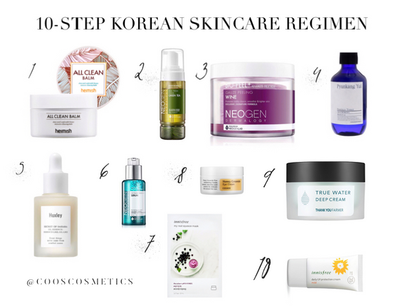 The Korean Skincare Routine-CoosCosmetics