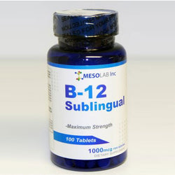 B-12 Sublingual -100 chewable tabs