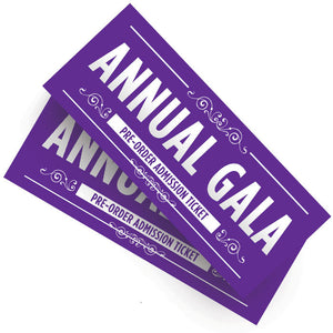 Annual Gala Tickets 2019