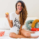 Kiss Kiss XX Summer Casual Tee