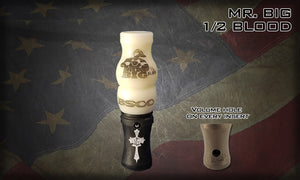 "The Mr BIG ""1/2 BLOOD"" Goose Call"