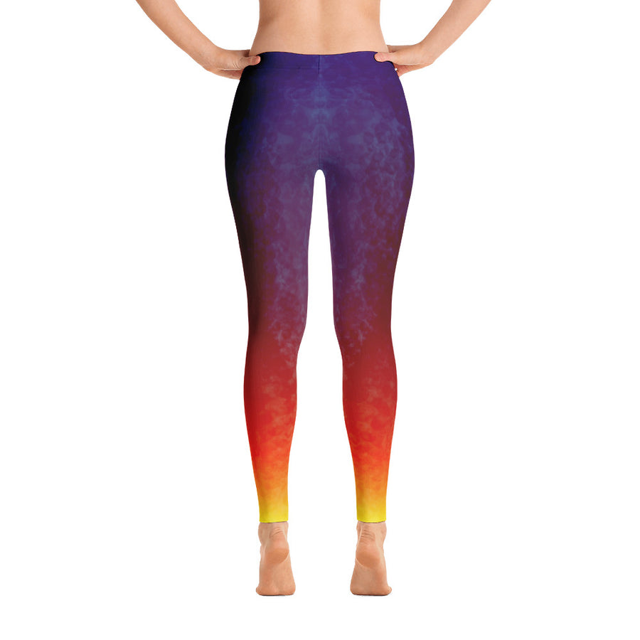 Midnight Fire Yoga Pants - Flower of Living
