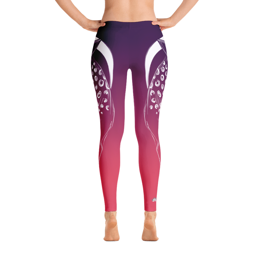 Serene High Desert Deer Yoga Pants - Flower of Living