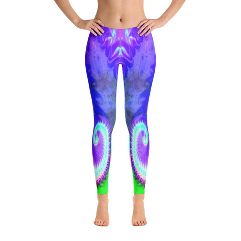 Late Rabbit Yoga Pants-Flower of Living