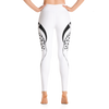 White Deer High Waist Yoga Pants