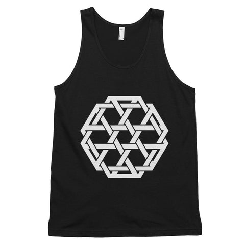 Minimalist Woven Merkaba Tank Top-Flower of Living