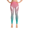 Morning Dew Deer High Waist Yoga Pants - Flower of Living